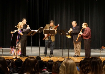 New York Woodwind Quintet Outreach Event