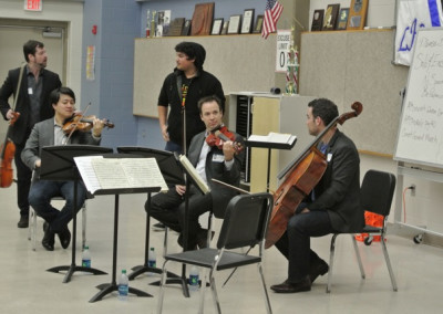 Miro Quartet Outreach Event