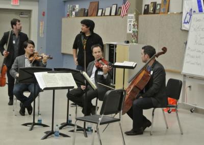Miro Quartet Outreach Event