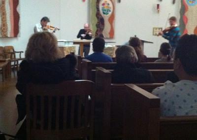 St Lawrence String Quartet Outreach Event