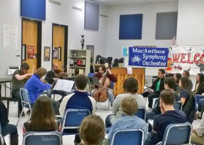 Quartetto di Cremona Outreach Event