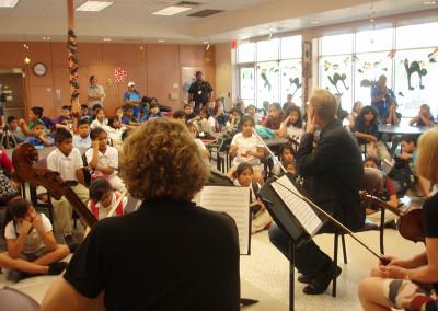 American String Quartet Outreach Event