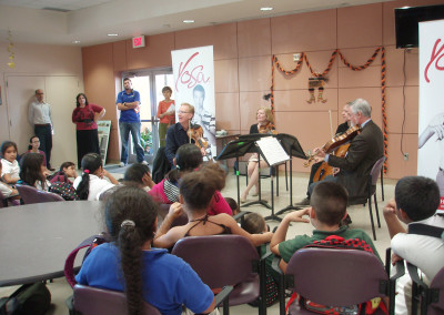 American String Quartet Outreach Event
