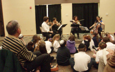 Aviv String Quartet Outreach Events