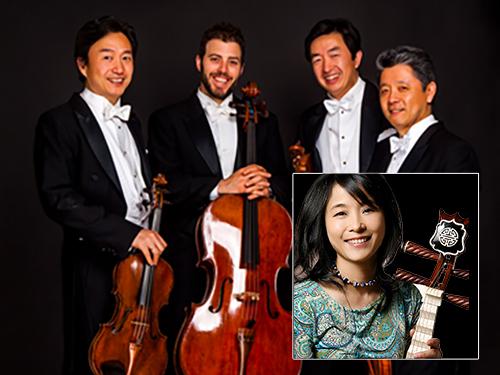 The Shanghai Quartet with Wu Man (pi-pa)
