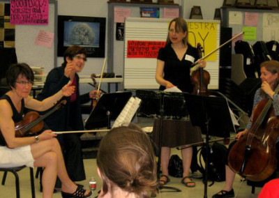 Lafayette String Quartet Outreach Event