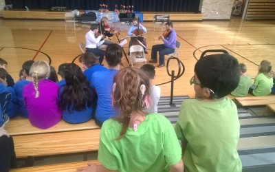 Zemlinsky String Quartet Outreach Event