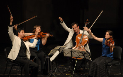 Jupiter String Quartet Outreach Events