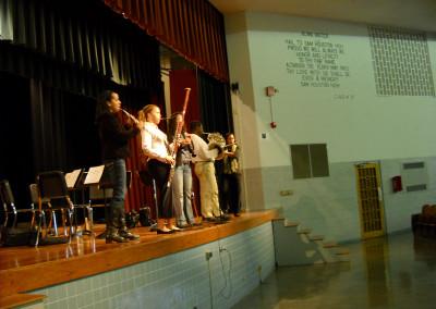 Imani Winds Outreach Event