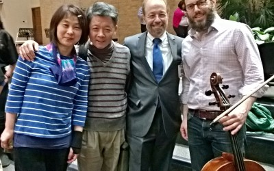 The Shanghai Quartet with Wu Man Outreach Event