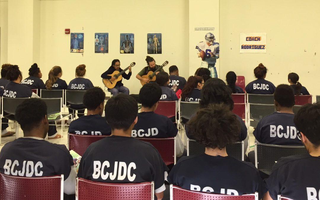 Brasil Guitar Duo Outreach Event