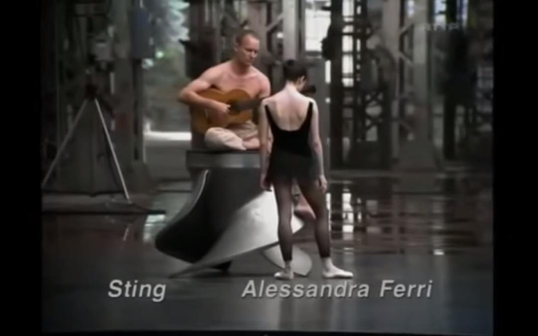 Sting, Alessandra Ferri and Bach