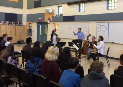 Pacifica Quartet Outreach