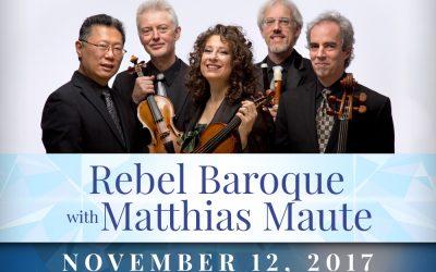 Rebel Baroque with Matthias Maute
