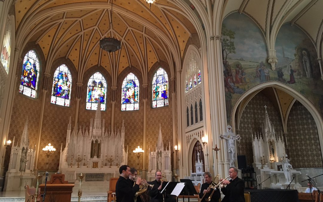 American Brass Quintet Outreach Event