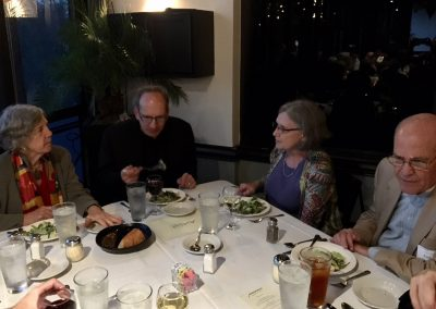 American Brass Quintet After Concert Dinner
