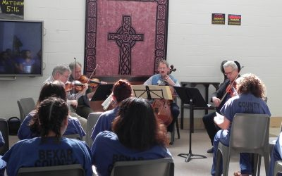 Orion String Quartet Outreach Event
