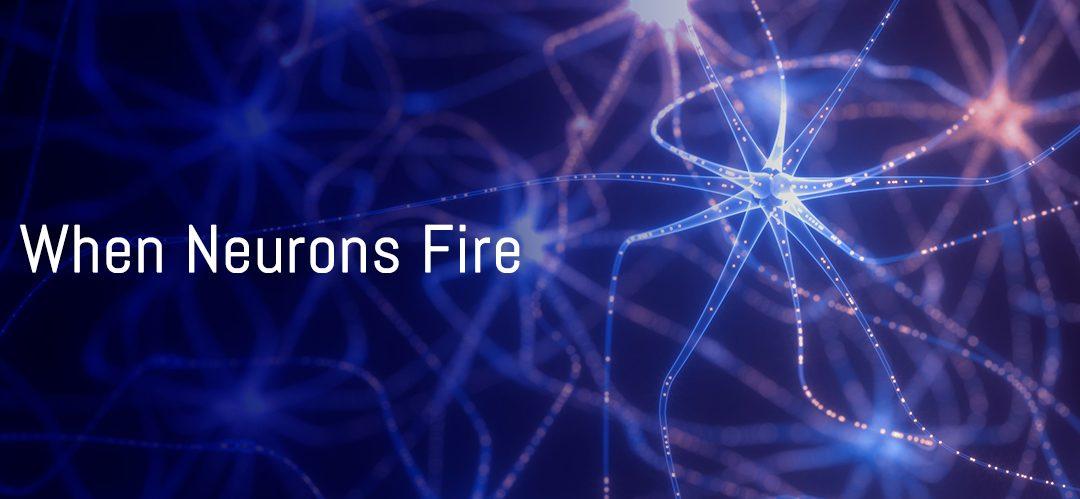 When neurons fire