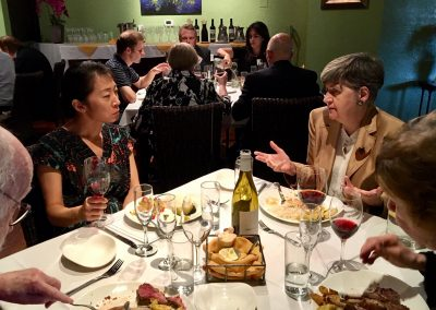 Brentano String Quartet with Dawn Upshaw Post-Concert Dinner