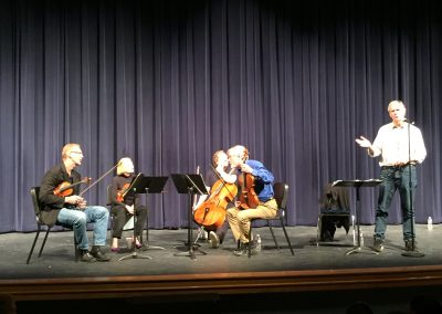 American String Quartet with Tom Sleigh Outreach Event