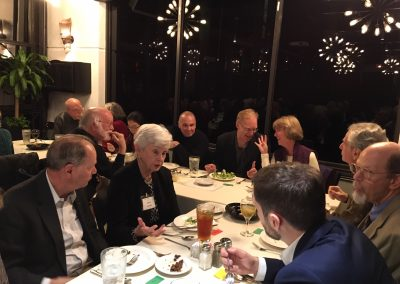 American String Quartet with Tom Sleigh & Phil Klay Post-Concert Dinner
