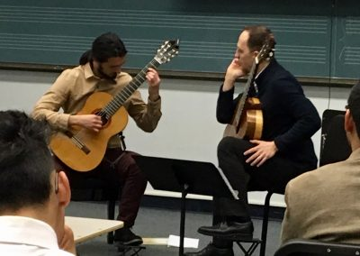 Cavatina Duo Outreach Event