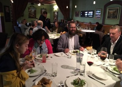 Eighth Blackbird Post Concert Dinner