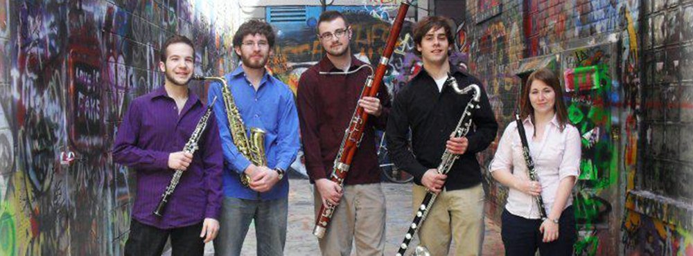 Akropolis Reed Quintet San Antonio Chamber Music Society