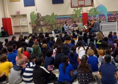 Ariel String Quartet Outreach Event