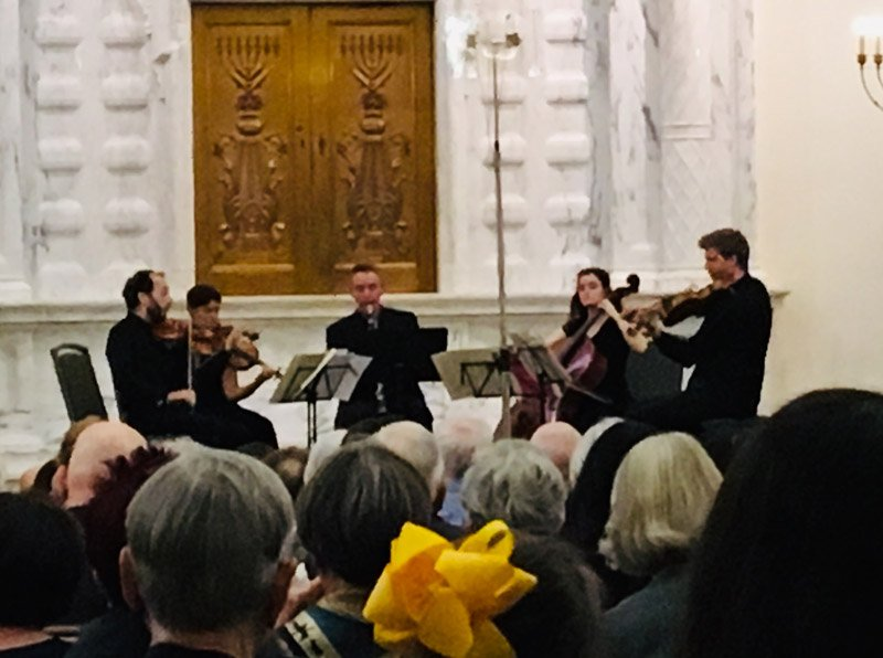 Ariel String Quartet with Ilya Shterenberg