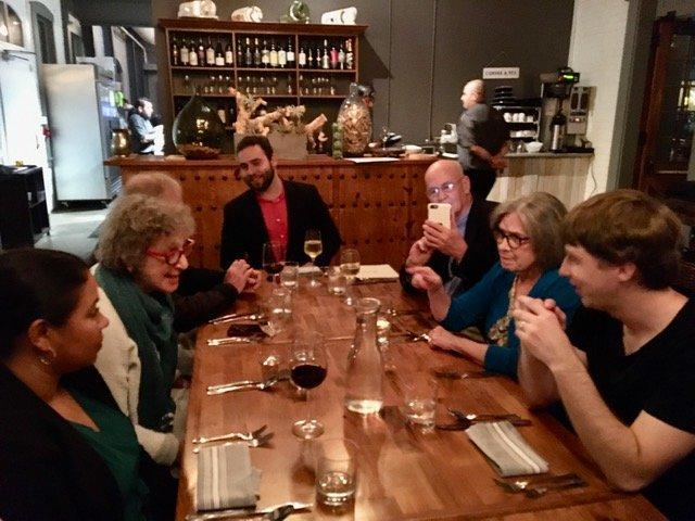 Akropolis Reed Quintet Post-Concert Dinner