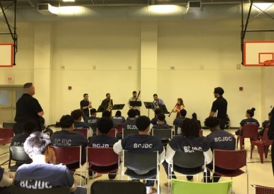 Akropolis Reed Quintet Outreach Event