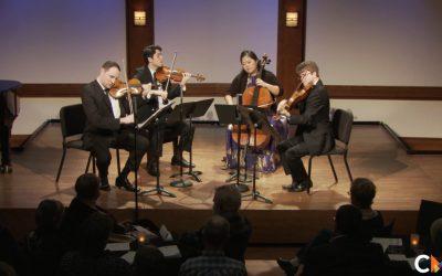 Concert #9: The Calidore String Quartet